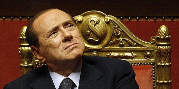 Berlusconi: Kein Ende für Sex-Prozess