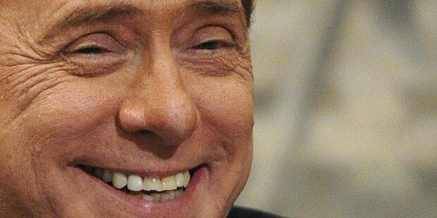 Berlusconi: Millionen für die Ladys