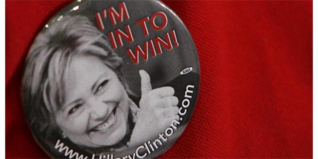 Hillary Clinton startet Wahlkampftour