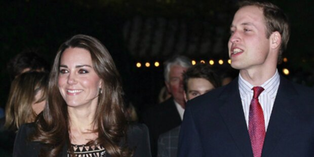 William & Kate absolvieren Charity-Termin