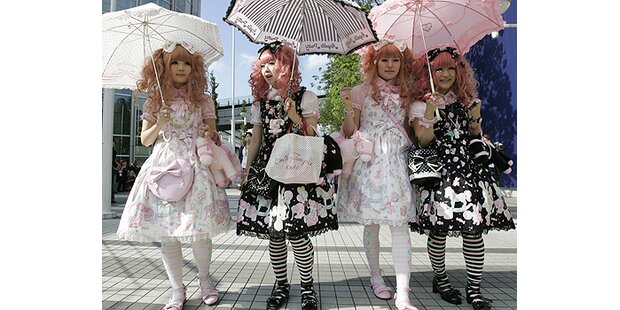 Punk-Lolitas machten in Tokio von sich reden