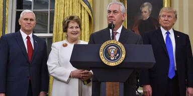Tillerson versetzt NATO-Kollegen