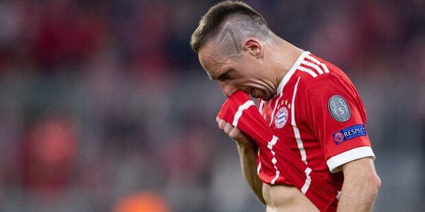 Franck Ribéry fällt mehrere Wochen aus