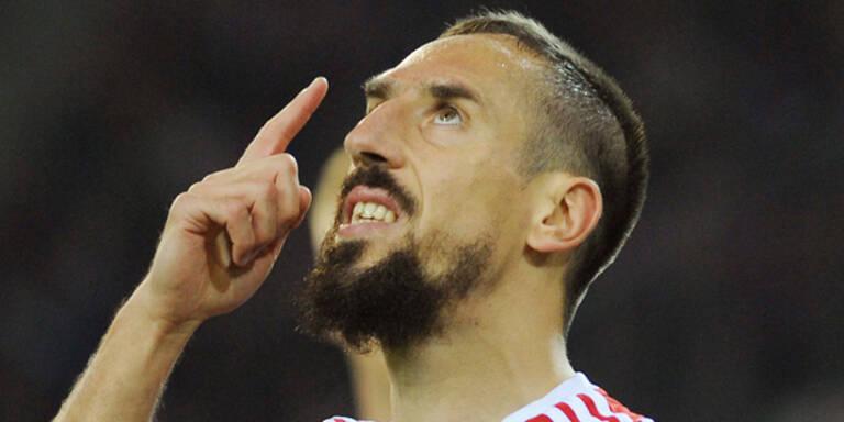 Bayern-Schock: Ribery wieder verletzt