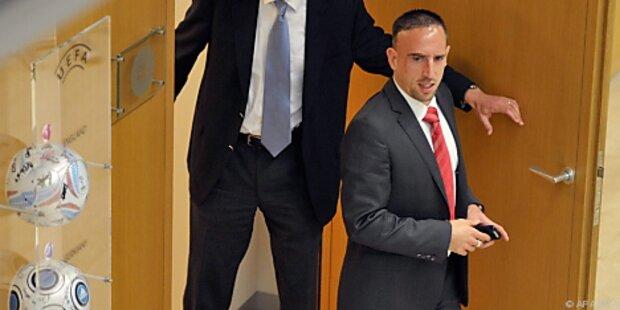 Sperre gegen Ribery für CL-Finale bleibt aufrecht