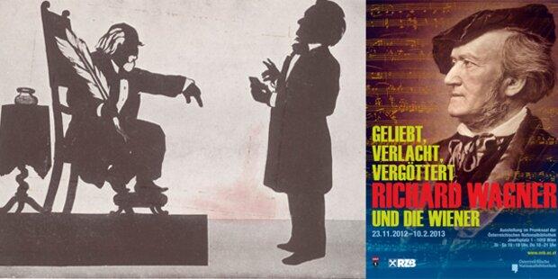 ÖNB zeigt große Richard Wagner Schau