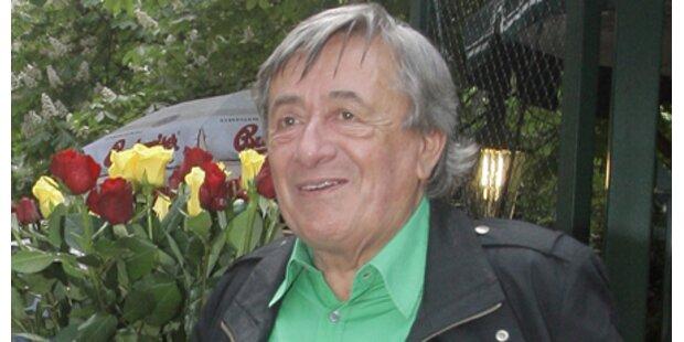 Lugner feiert 77er mit der Ex -Maus