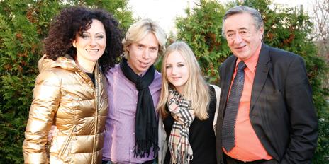 Richard Lugner Christina Mausi Helmut Werner Jacqueline
