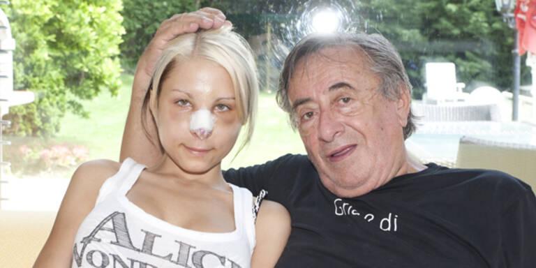 Richard Lugner Katzi Anastasia Sokol Nasen OP