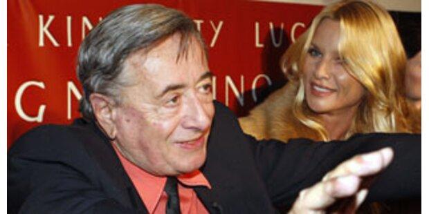 Lugner legte sich mit deutscher Journalistin an