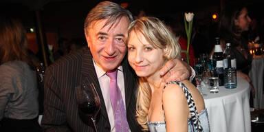 Richard Lugner und Katzi Anastasia Sokol
