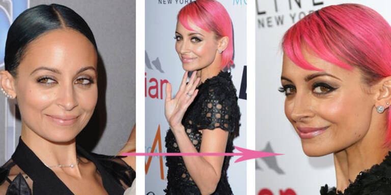 Nicole Richies radikaler Haarfarbenwechsel