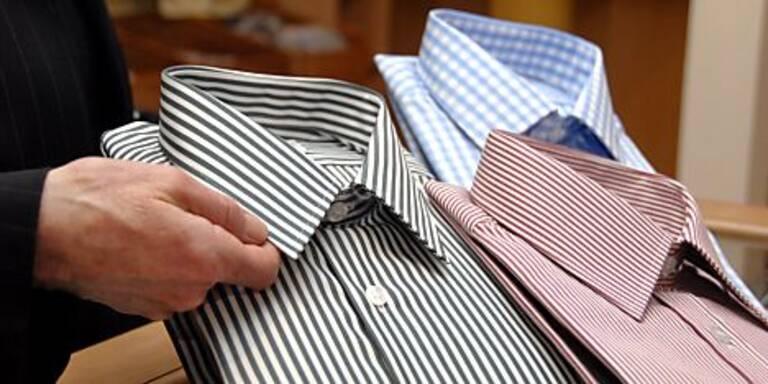 Richtig zusammengelegte Hemden bleiben glatter