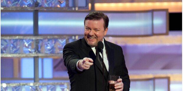 Gervais schmeißt