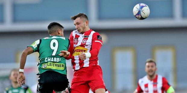 Innsbruck und Hartberg mit Siegen