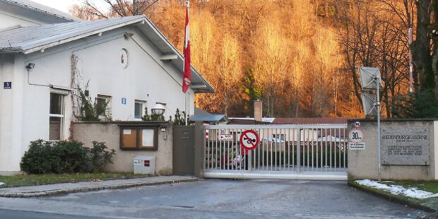 Riedenburg-Kaserne für Flüchtlinge