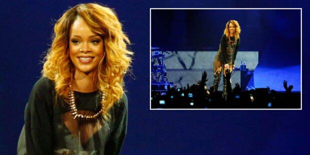 Rihanna: Zeuge von schlüpfriger Sex- Show