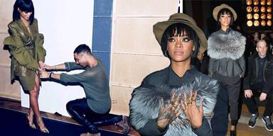 Rihanna rockt Paris Fashion Week