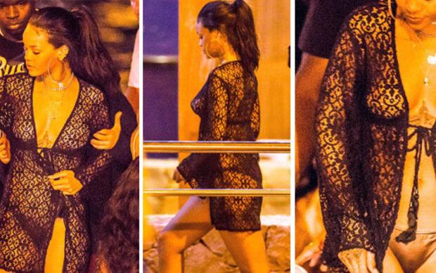 Rihanna, hast du eine Stoff-Allergie?