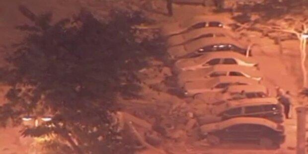Hochhäuser in Rio eingestürzt