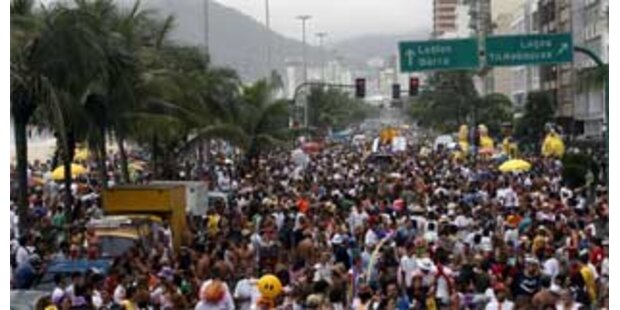 Karnevalsfeiern in Rio de Janeiro