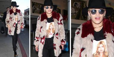 Rita Ora im Schlabber-Look