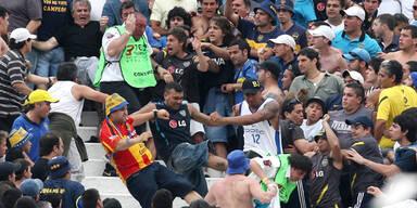 25 Verletzte bei Derby in Buenos Aires