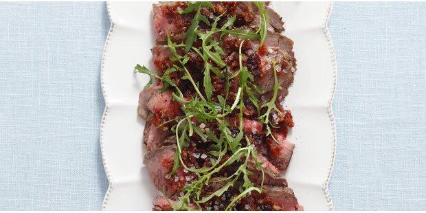 Küchenfertig Pariert ~ roastbeef carpaccio