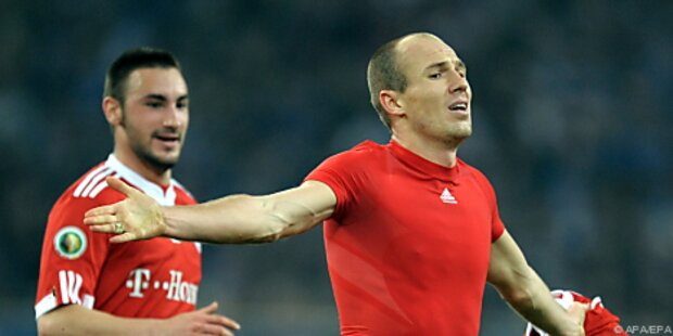 Bayern-Legionär Robben entzückte Schalke-Coach