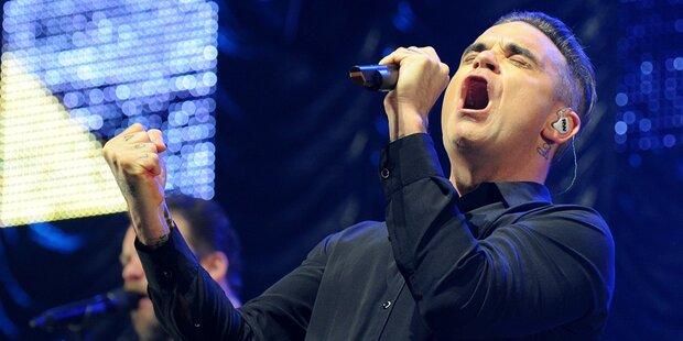 Tickets für Robbie Williams gewinnen!