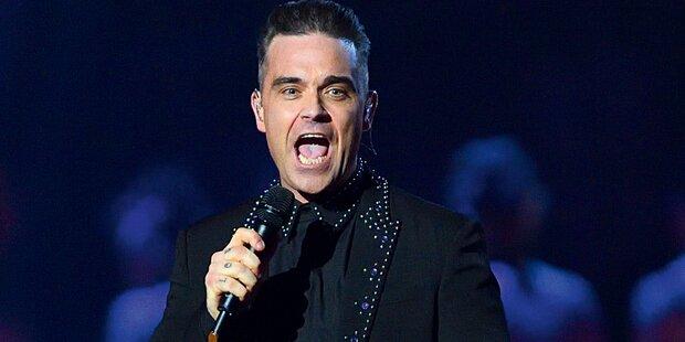 Robbie rockt Glock-Jubiläum