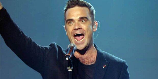 Robbie Williams mit Live-Gig im Kino