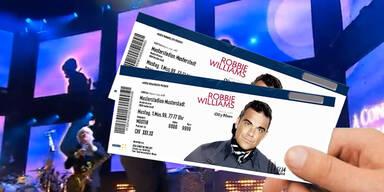 Auflösung des Robbie Williams Gewinnspiels