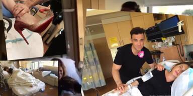 Robbie Williams: Terror im Kreißsaal!