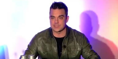 Robbie Williams gibt PK zu seiner Tournee