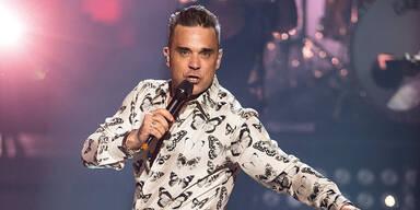Robbie Williams' Wien-Gig 2017