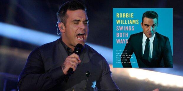 Robbie swingt sich wieder durchs Leben