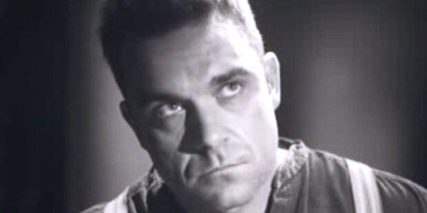 Robbie Williams zeigt sich