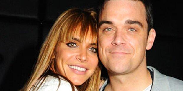 Robbie heiratet heute seine Ayda