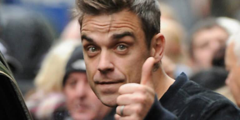 Robbie verlässt wieder mal Take That