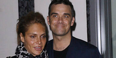 Robbie Williams und seine Freundin Ayda Field
