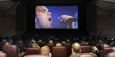 Robbie live im Kino