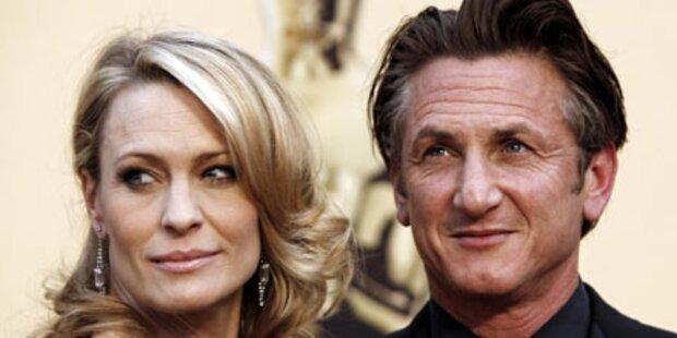 Sean Penn & Robin endlich geschieden