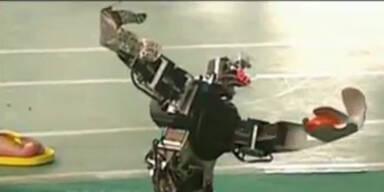 Konkurrenz: Roboter- Olympiade in China