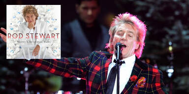 "Rod Stewart sinf ""Merry Christmas, Baby"""