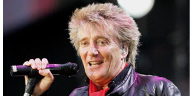 Rod Stewart rockte Party von Prinz Charles