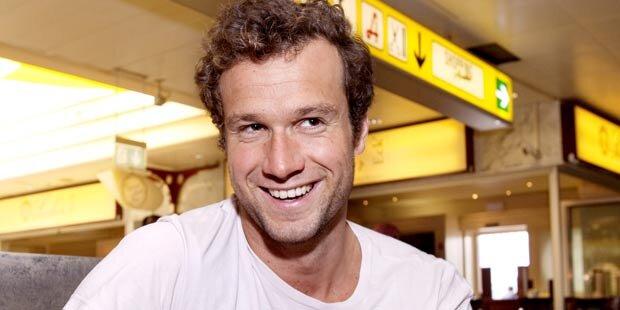 Markus Rogan in Wien für Stöckl-Charity