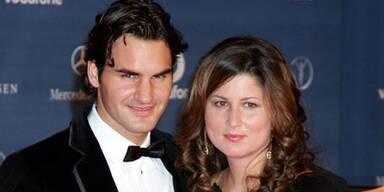 Roger Federer & Frau Mirka