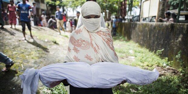 Gesunkenes Rohingya-Boot: zahl der Toten steigt