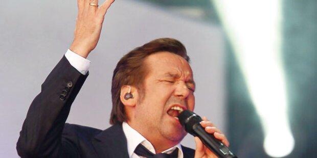 Roland Kaiser wieder auf der Bühne